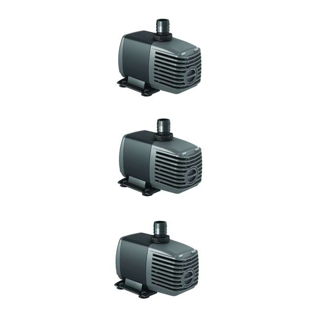 3 x AAPW400 HYDROFARM Active Aqua 400 GPH Submersible Water Pump | AAPW400 (3 Pack)