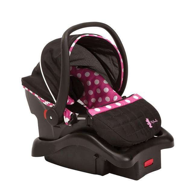 IC233BZE Disney IC233BZE Light and Comfy 22 Luxe Minnie Mouse Infant Seat, Pink 1