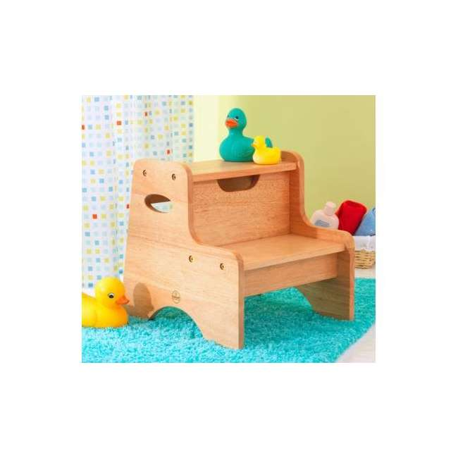 Kidkraft Two Step Stool Natural 15511