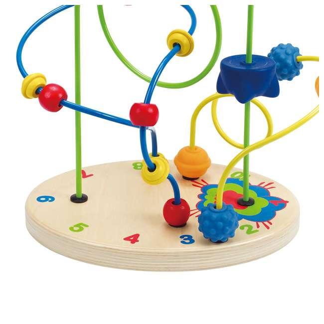HAP-E1806 Hape Children's Countdown Activity Wooden Bead Maze Toy 4
