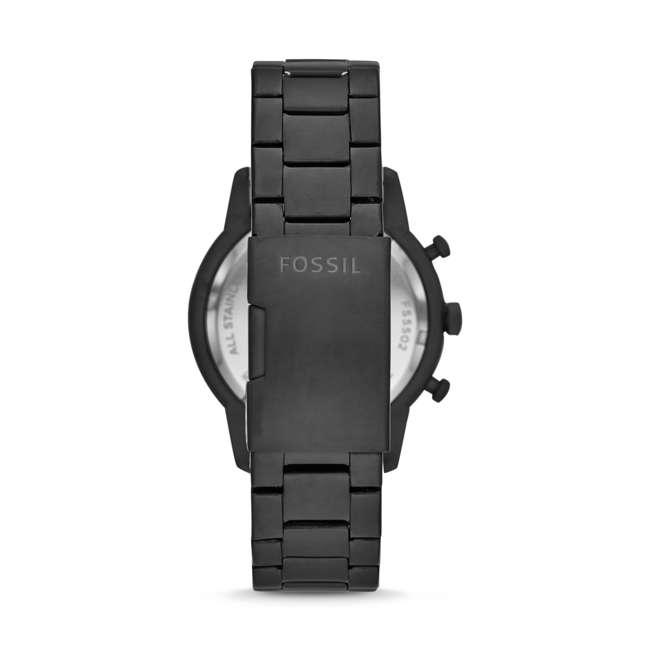 FS5502 Fossil Townsman Quartz Chronograph Black Stainless Steel Men's Watch 1