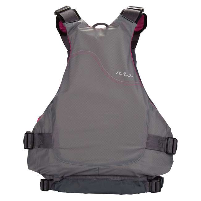 NRS_40036_02_102 NRS Adult Women's Siren PFD Life Jacket Vest, Charcoal, L/XL 1