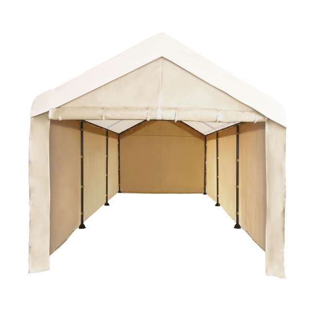 CVAN12002110160-U-A Caravan Mega Domain Car Port Sidewalls (Not Including Frame/Roof)