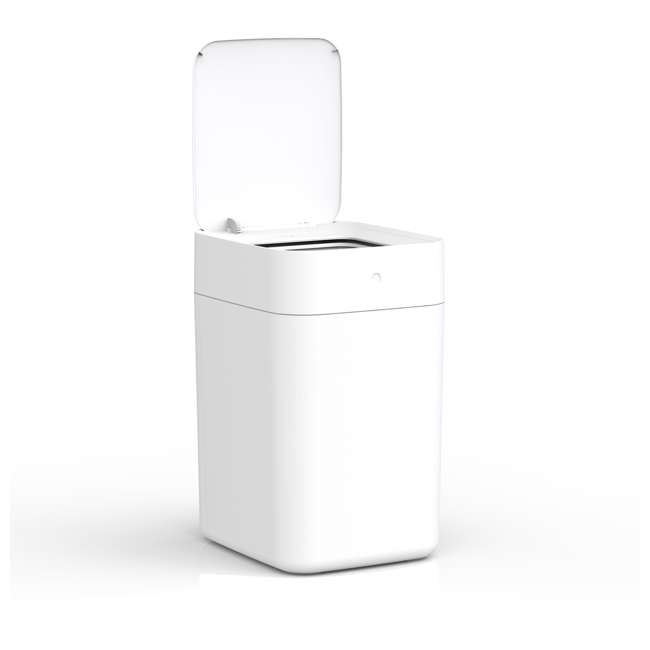 KTN901X0H TOWNEW Electric Motion Self-Sealing & Self-Changing Kitchen Trash Can, White 3