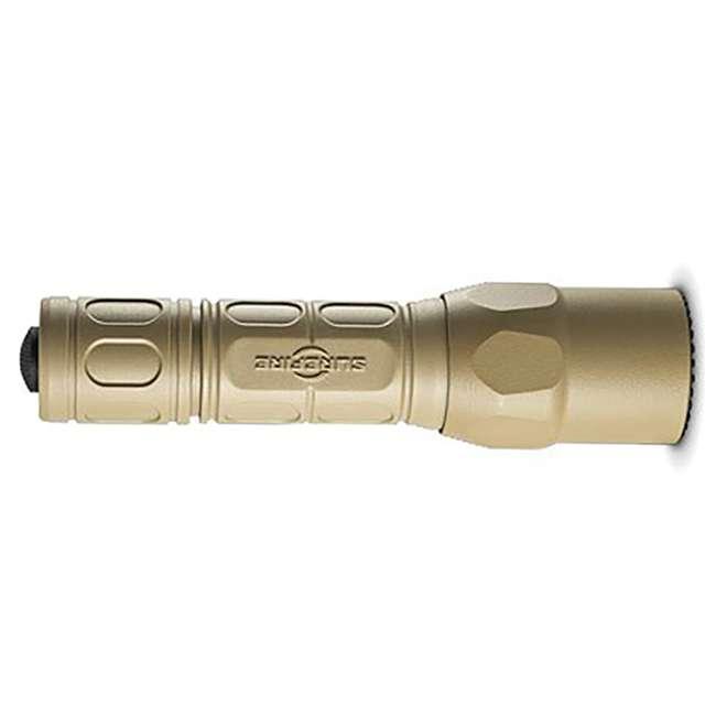 G2X-D-TN SureFire Pro Lightweight High Performance Dual Output LED Flashlight, Desert Tan 1