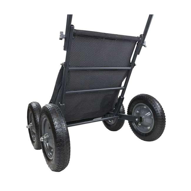 HWK-HA3420 Hawk Crawler 500 Pound Capacity Foldable Multi Use Game Recovery Cart, Black 1