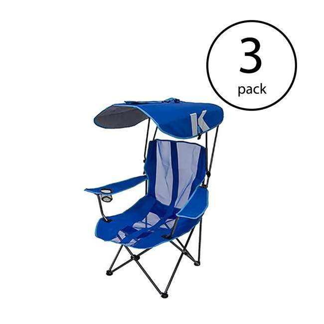 3 x 80185  Kelsyus Original Canopy Chair (3 Pack)