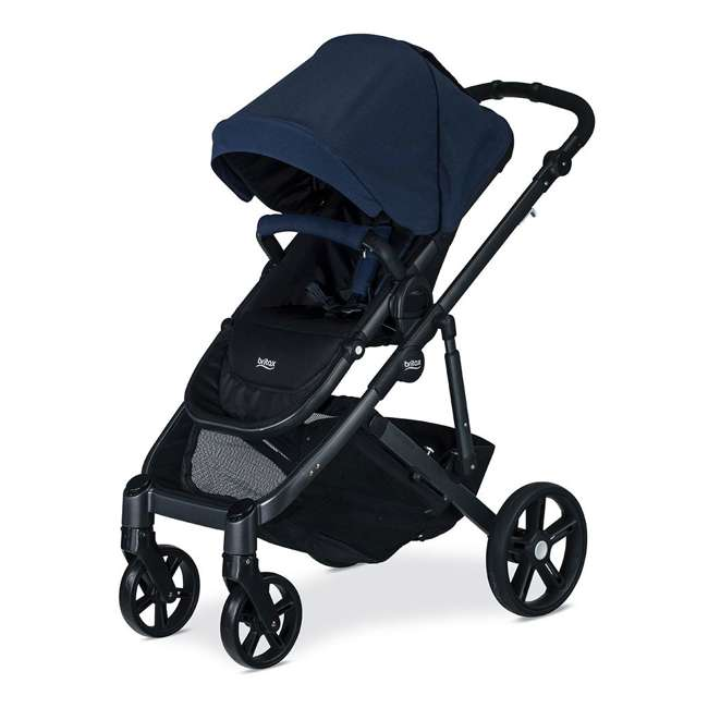 U911933 + S03634300 + S934100 Britax B Ready Folding Baby Stroller, Second Seat Conversion, and Snack Tray 3