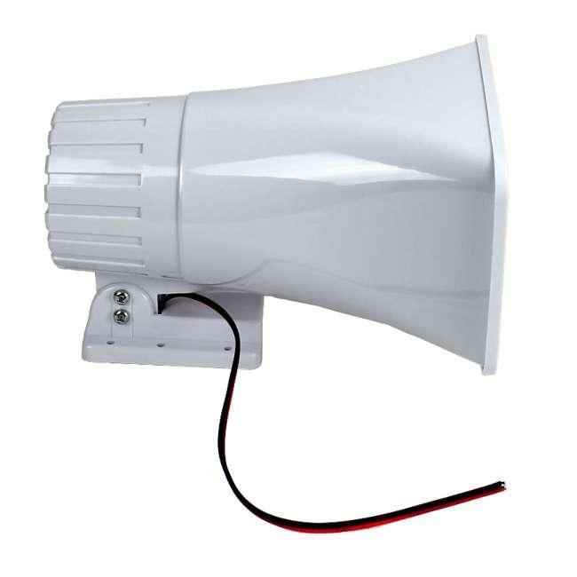 """6 x PHSP4 New Pyle 6"""" 50 Watt Indoor/Outdoor Waterproof Home PA Horn Speaker (6 Pack) 4"""