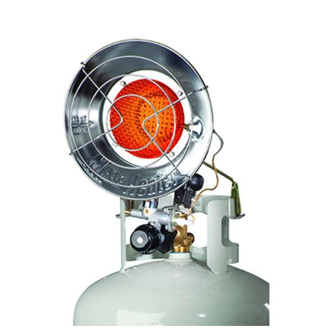 MH-F242100 Mr. Heater Outdoor 15,000 BTU Stainless Steel Propane Gas Single Tank Top Heater 1
