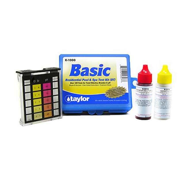 K2006 + K1000 Taylor Complete Pool Chlorine Test Kit w/ Basic Kit 2