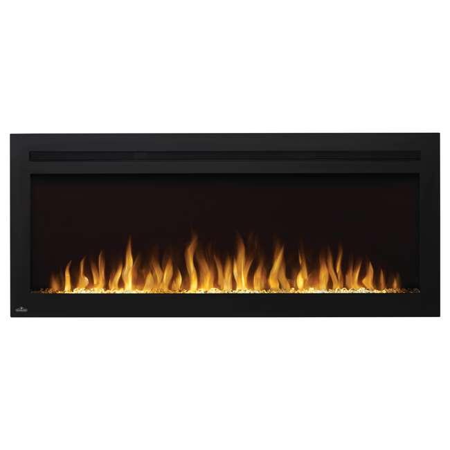 NEFL50HI Napoleon NEFL50HI Purview 50 Inch Linear Electric Wall Mount Fireplace w/ Remote 2