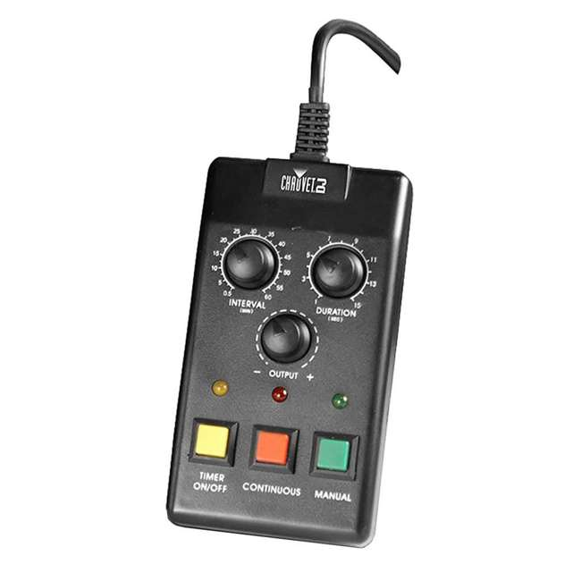 H1200 + 2 x HDF Chauvet DJ Hurricane 1200 1.0L Fog Machine w/ Wired Remote & Fog Juice (2 Pack) 5