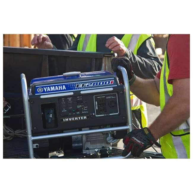 EF2800i Yamaha EF2800i 2500-Watt Inverter Generator, Blue   6