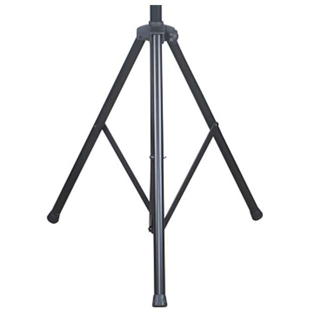 LTS-2-U-B LTS-2 Aluminum Black Heavy Duty 12 Ft Tripod T-Bar Light Stand (Open Box)  2