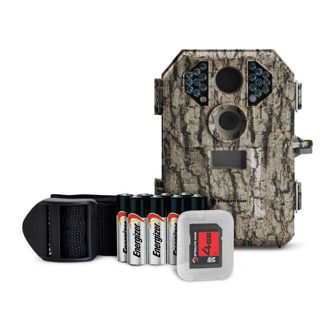 STC-P18CMO-U-A Stealth Cam 7MP Infrared Hunting Game Camera w/ SD Card | Open Box