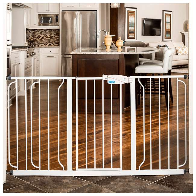 1158 DS Regalo Extra Wide Span 56-Inch Walk Through Baby Gate 1