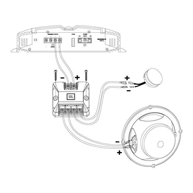 CLUB9600C JBL Harman CLUB9600C Car Audio 2-Way Component Speakers (Pair) 4