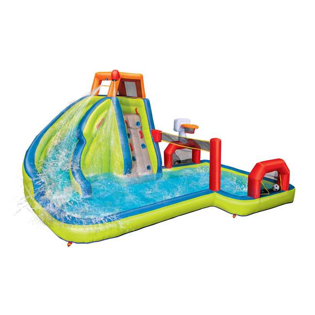 BAN-90350 Banzai Aqua Sports Kids Inflatable Water Park Play Center