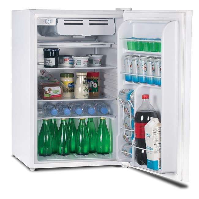 CCR45W Commercial Cool 4.5 Cu. Ft. Compact Refrigerator, White 1