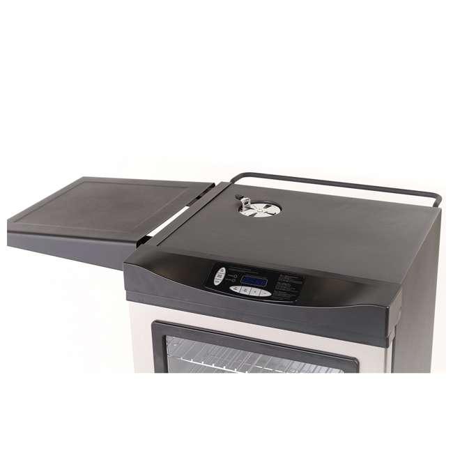 20100814 Masterbuilt 20100814 Universal Electric Smoker Side Shelf Space Accessory, Black 1