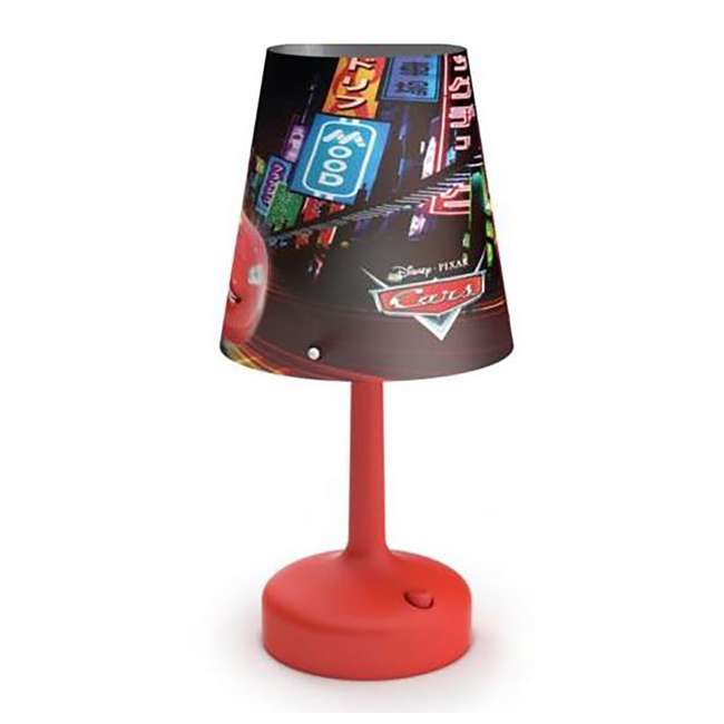 PLC-7179632U0 Philips Disney Cars Kids Table Lamp with Shade (2 Pack) 1