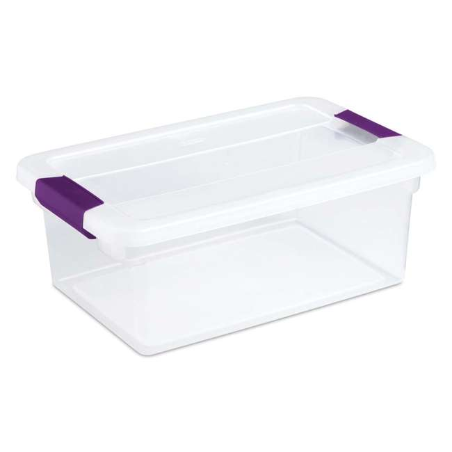 48 x 17531712 Sterilite 15-Quart ClearView Latch Box (48 Pack) 1