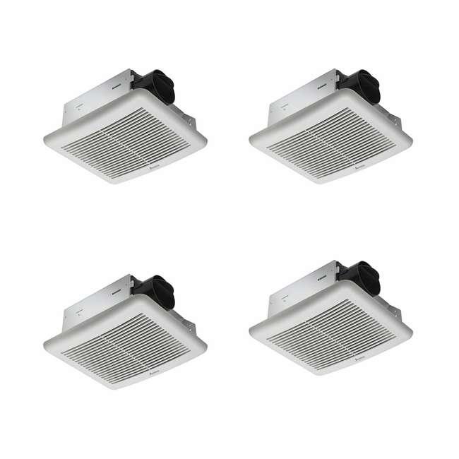 4 x SLM70 Delta Breez Bathroom Fan Single Speed 70 CFM 2.0 Sones (4 Pack)