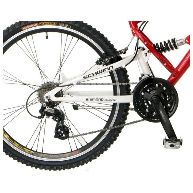 "S2756 Schwinn Protocol 1.0 Mountain Bike (26"" Red)  3"