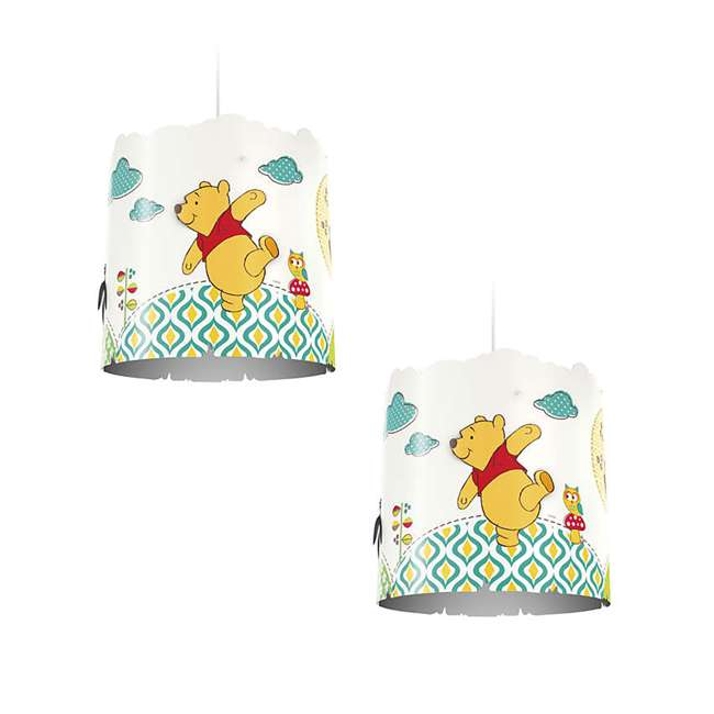 PLC-7175134U0 2) Philips Disney Winnie the Pooh Suspension Light Lampshade