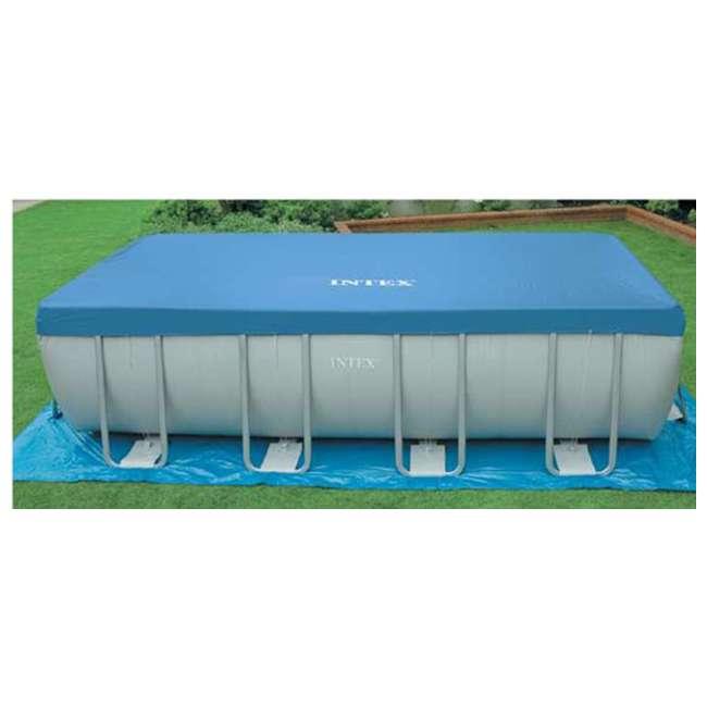Intex 18 39 X 9 39 X 52 Ultra Frame Rectangular Swimming Pool Deluxe Set 28351eh 2 X 58868ep