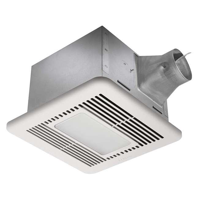 SIG110LED Delta BreezSignature SIG110LED Energy Star Quiet Bathroom Exhaust Fan with Light