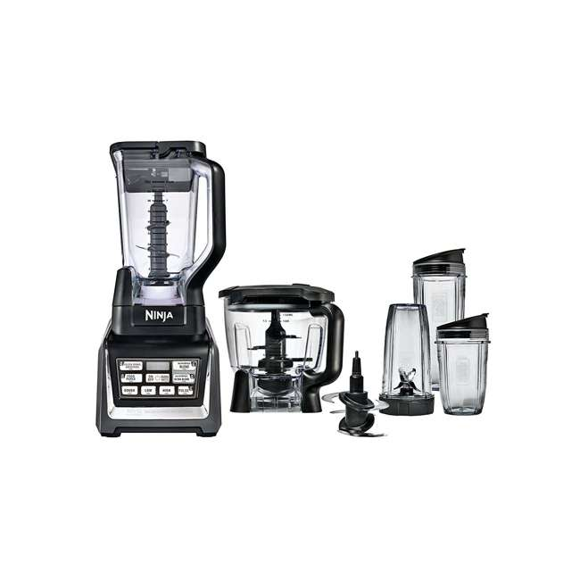 BL682_EGB-RB Nutri Ninja Blender Duo with Auto-iQ 2HP Blender with Food Processor Bowl (Certified Refurbished) 8