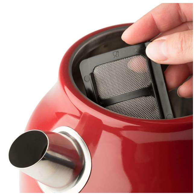 75000 + 75001 Haden Stainless Steel Retro Toaster & 1.7 Liter Stainless Steel Electric Kettle 6