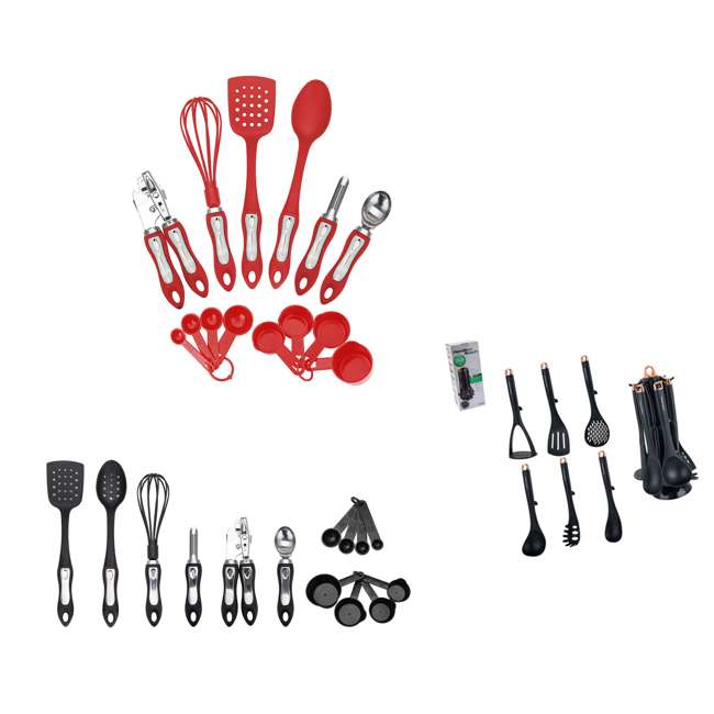 HGA602 + HGA602R + HGI601 Hamilton Beach Kitchen Gadget Set (Set of 2) & Utensil Set