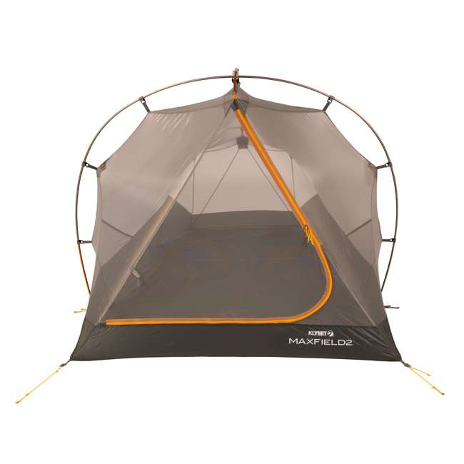 09M2OR01B Klymit 09M2OR01B Maxfield 2 Person 3 Season Lightweight Backpacking Camping Tent 1