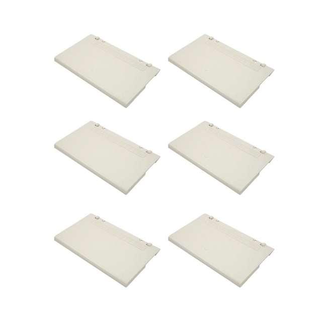 6 x 086500022 Sta-Rite SwimQuip Skimmer Weir (6 Pack)