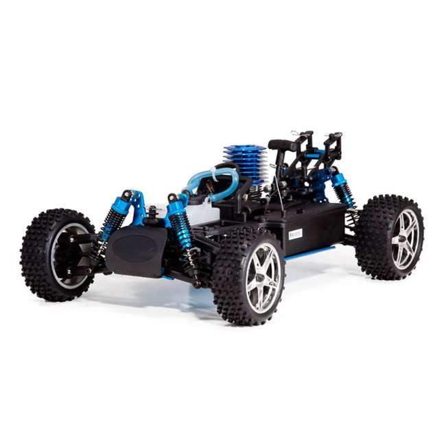 4 x TORNADOS30-R1072 Redcat Racing Tornado RC Nitro Buggy, Blue & Silver (4 Pack) 4