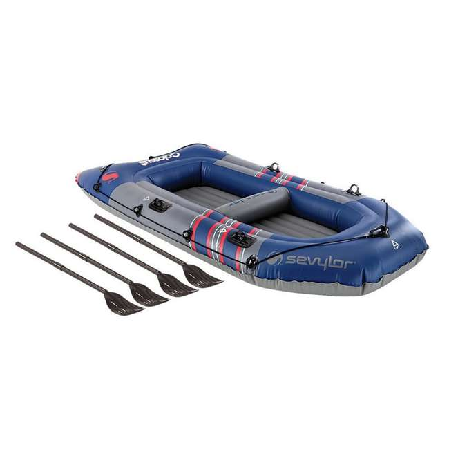 2000014140 Sevylor 3391 Colossus Inflatable 4 Person Boat/Raft