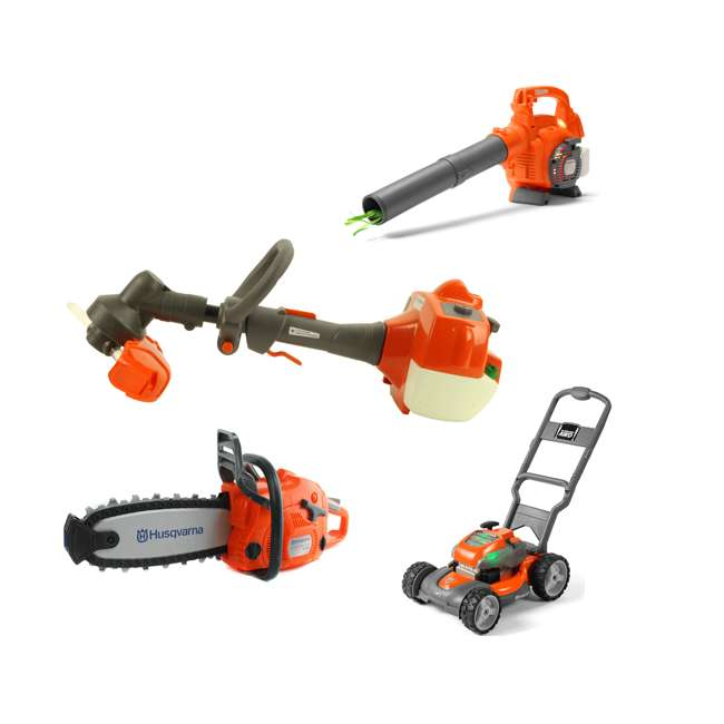Husqvarna Toy Leaf Blower Lawn Mower Lawn Trimmer And