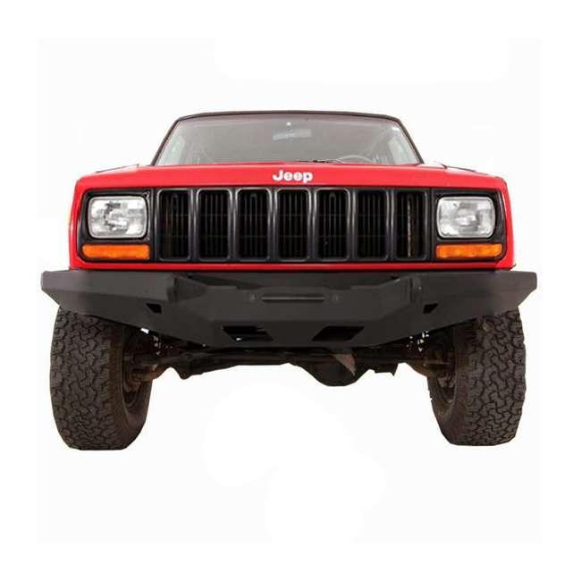 76810-SMITTYBILT Smittybilt XRC Rock Crawler Winch Front Bumper with D-ring Mounts 1