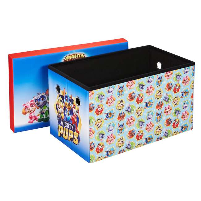 520021-005 Fresh Home Elements 30-Inch Licensed Folding Super Toy Chest & Bench, Paw Patrol 1