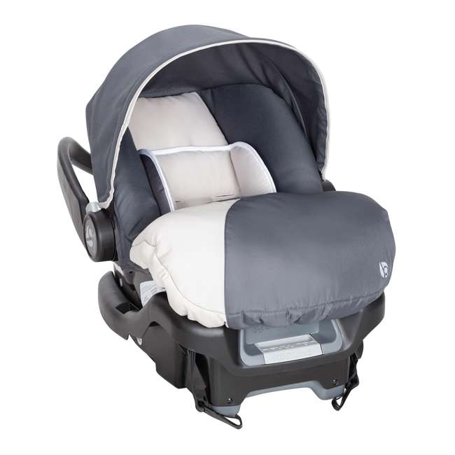 CS79C81A Baby Trend Ally Adjustable 35 Pound Infant Baby Car Seat and Car Base, Magnolia 1