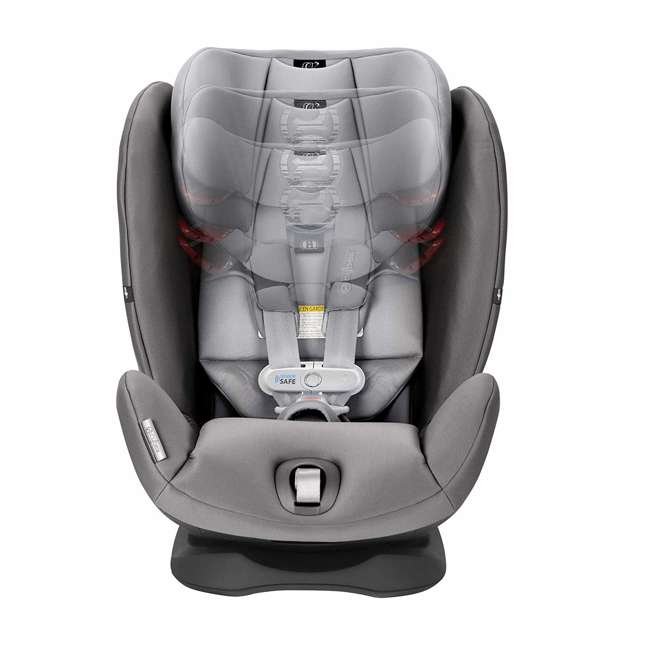 518002885 Cybex Gold Eternis S Convertible Infant Car Seat w/ SensorSafe, Manhattan Gray 1