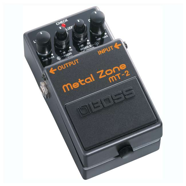 MT-2-OB Boss MT-2 Metal Zone Multi Effects Guitar Pedal Stompbox (Used)