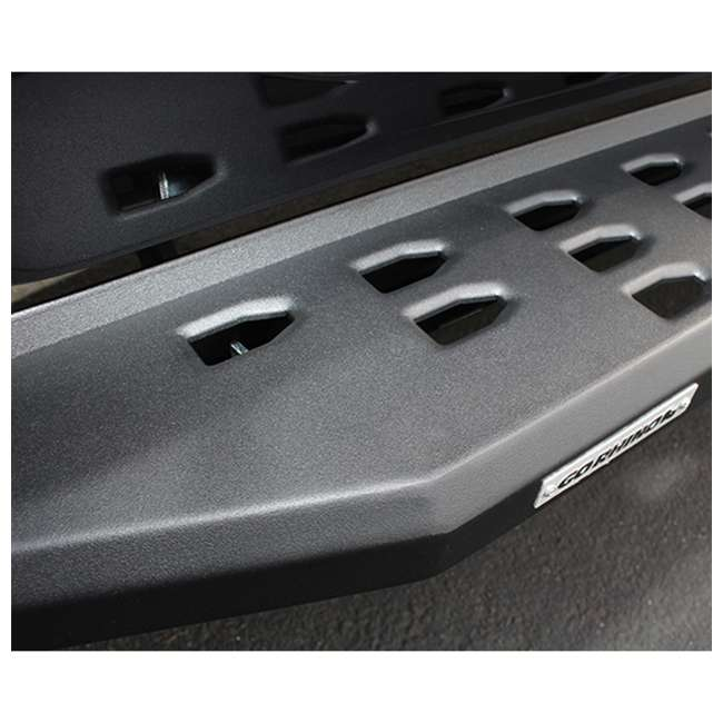 69441687PC Go Rhino RB20 Steel Running Boards for 2007-19 Toyota Tundra CrewMax Cab Pickup 1