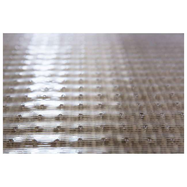 184013 ES Ribbons 10 Feet x 27 Inch Cleated Clear Carpet Floor Runner, Vinyl 6