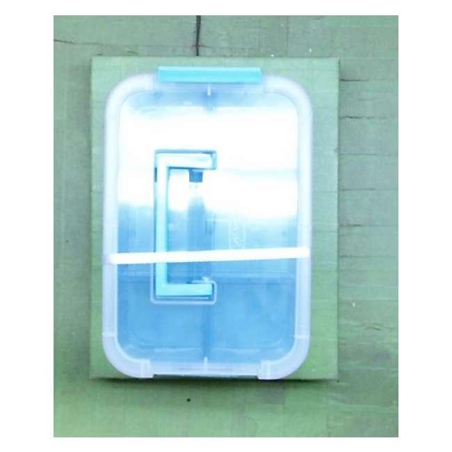 Sterilite-14128606 Sterilite 14128606 Stack & Carry 2 Layer Handle Box (Open Box) 1