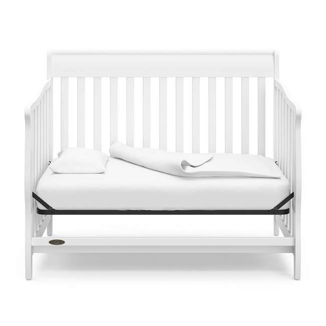 04530-661 Graco Stanton 4-in-1 Convertible Crib, White 5