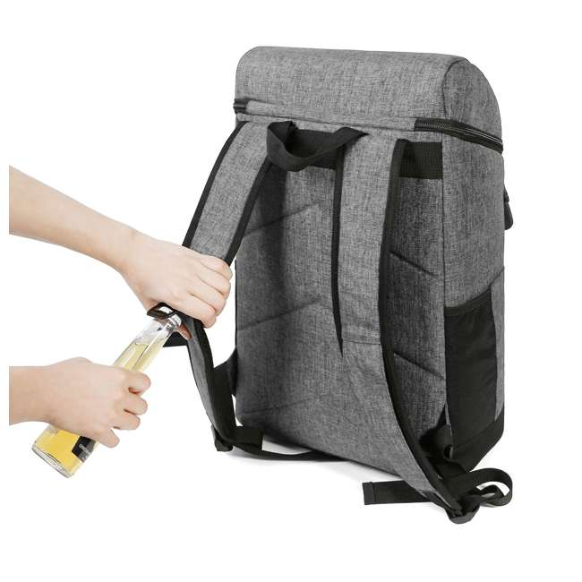 TR0260013A008 TOURIT TR0260008B001 Terns Insulated Leak-proof 21 Can Cooler Backpack, Gray 2
